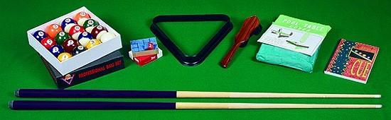 Winsport POOL-Tischzubehör-Set für Pool-Billardtische