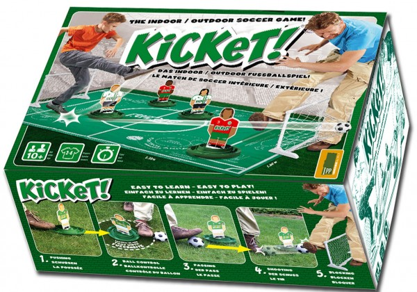 Kicket! Indoor/Outddor Fußballspiel Set
