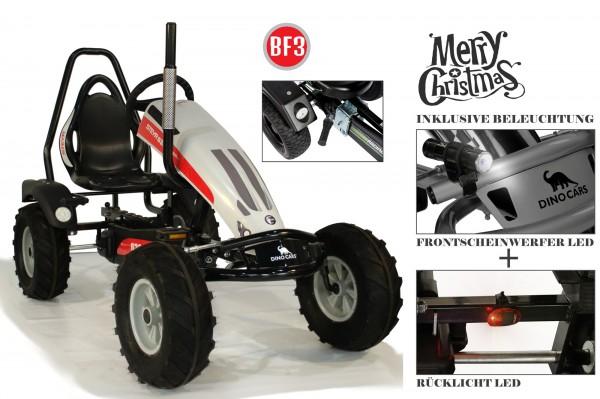 Dino Cars Track BF3 Steyr inkl. Überrollbügel und Beleuchtungsset