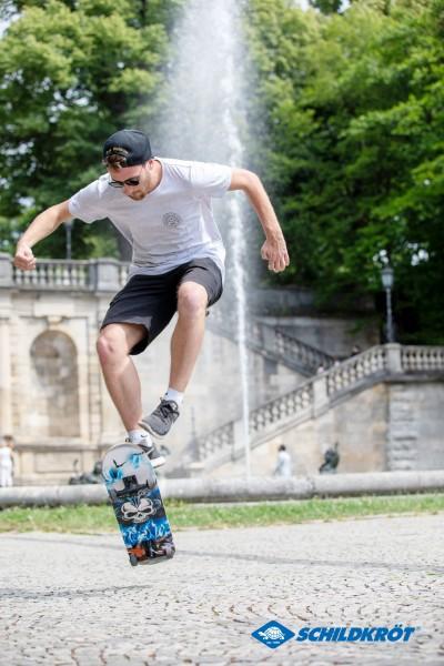 Schildkröt Skateboard Grinder 31'' Inferno