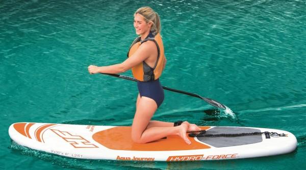 Bestway iSUP Hydro-Force Aqua Journey Allround-Board-Set 274x76x15cm