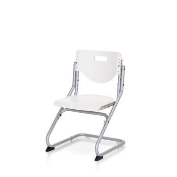 Kettler Schreibtischstuhl Chair Plus white 06725-600 silber/weiß
