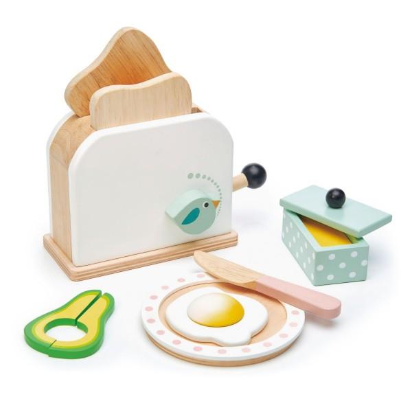 Tender Leaf Holz Toaster mit Zubehör