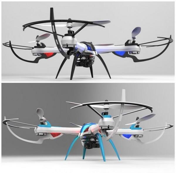 QUADROCOPTER TARANTULA X6 Drohne mit 2 MP HD-Kamera, 6 Achsen-GYRO, 2.4 GHz, 4-Kanal