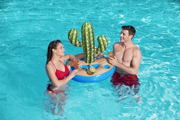 Bestway Getränkehalter Kaktus für 6 Getränke