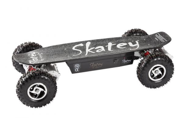 Skatey 800 Elektro-Skateboard Quatro Black