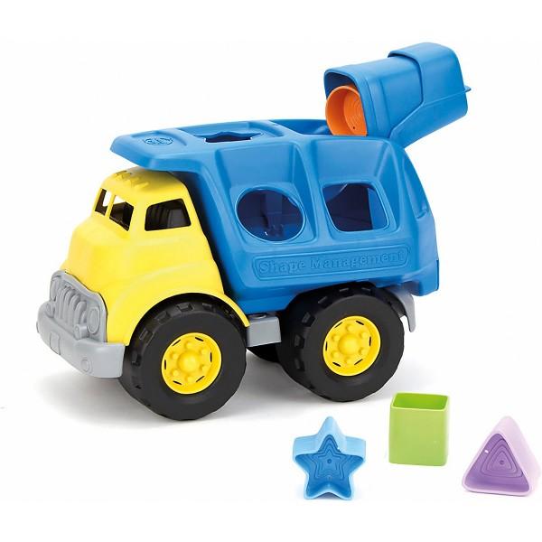Green Toys Lastwagen als Formsortierer 6 Teile