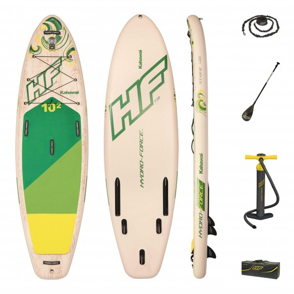 Bestway Hydro-Force iSUP-River-Board-Set KAHAWAI