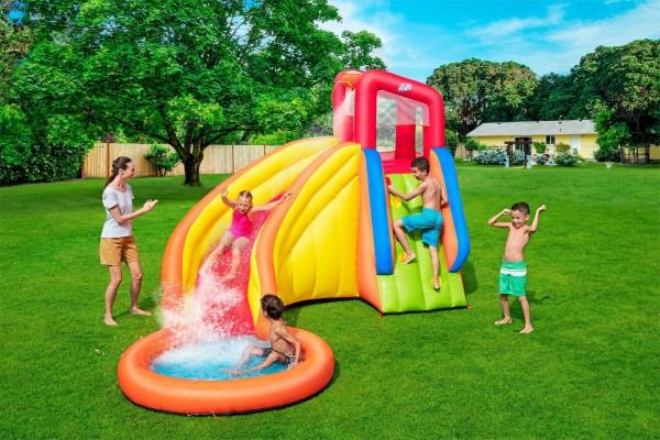 Bestway H2OGO! Splash Tower Wasserpark mit Dauergebläse