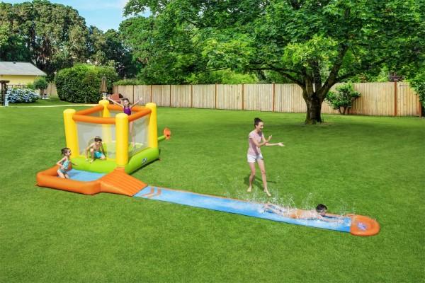 Bestway H2OGO! Splash & Dash Wasserpark mit Dauergebläse