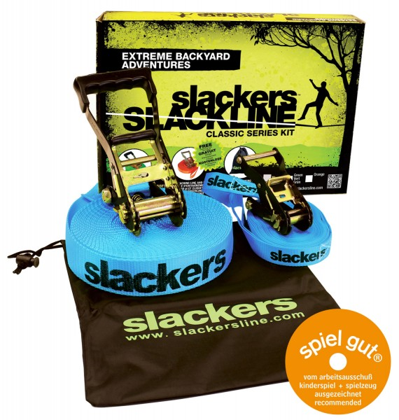 Schildkröt SLACKERS Slackline Classic inkl. Teaching line