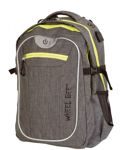 Wheel Bee Rucksack Revolution grau 950022