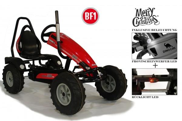 Dino Cars Track BF1 Case inkl. Überrollbügel und Beleuchtungsset