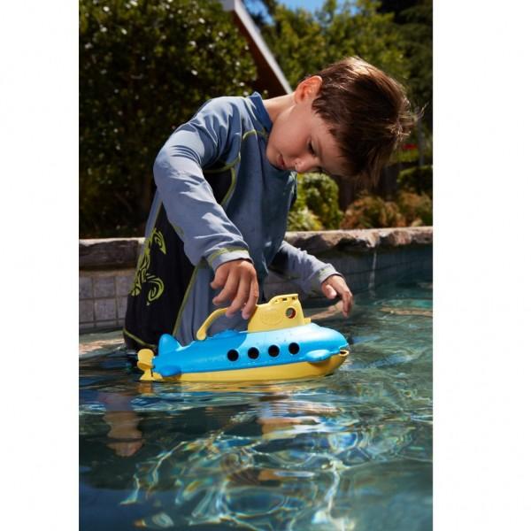 Green Toys U-Boot mit gelbem Griff