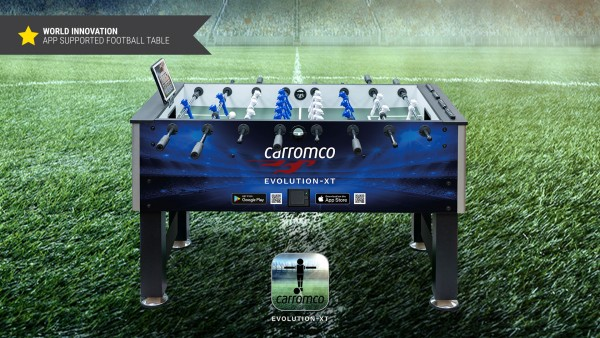 Carromco Kicker Evolution-XT mit App Anbindung