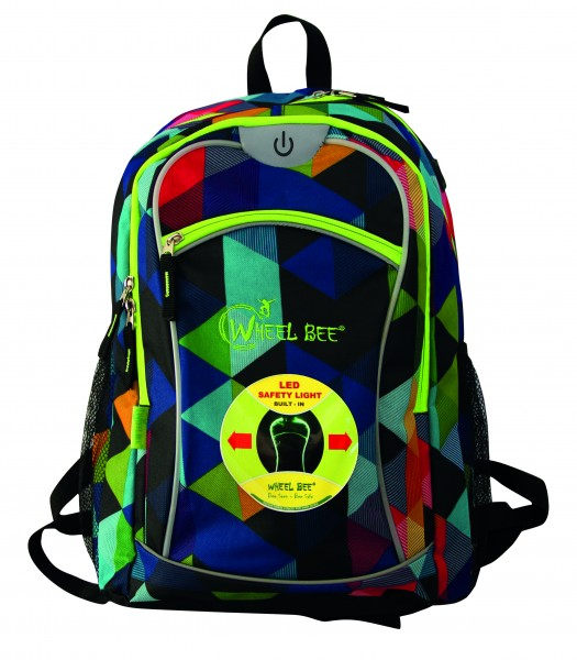 Wheel Bee Rucksack Multicolor 950001