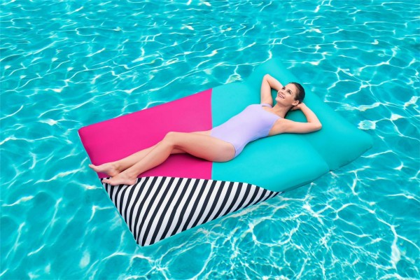 Bestway Poollounge mit Textilbezug 200x129cm
