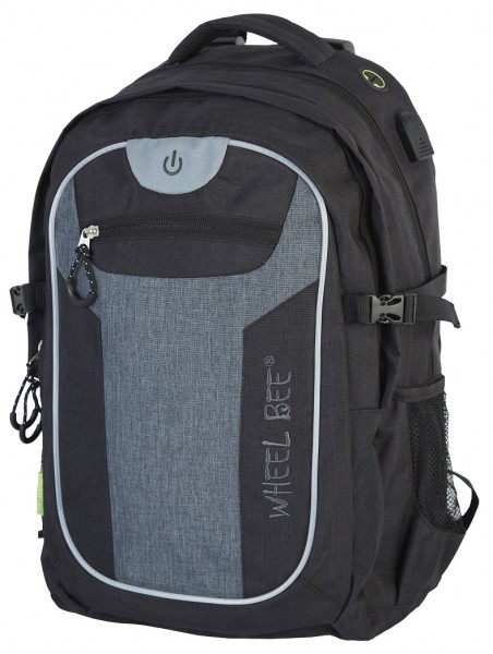 Wheel Bee Rucksack Revolution black/grey