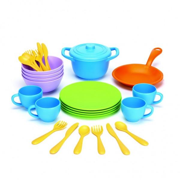 Green Toys Koch- und Geschirrset 27 Teile