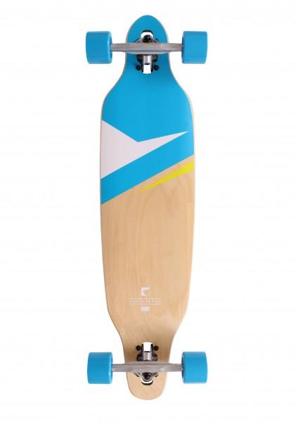 """RAM Complete Longboard Lokz Mini 36"""" Marina Blue 12270"""