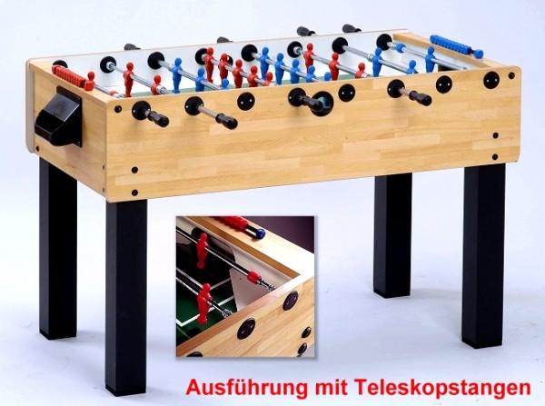 Garlando Fußballkicker F-200 Buche-Teleskop Sport Safety 5414.02