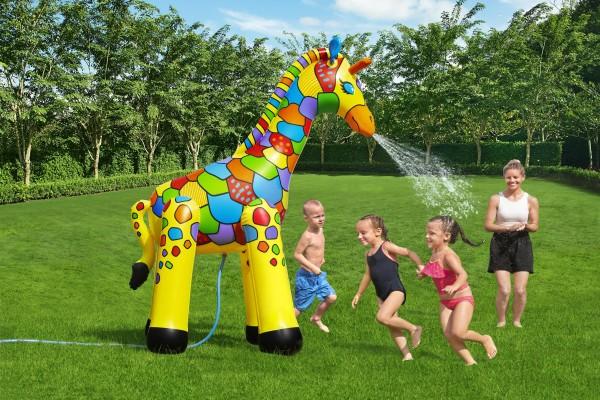 Bestway Wassersprüher Jumbo Giraffe