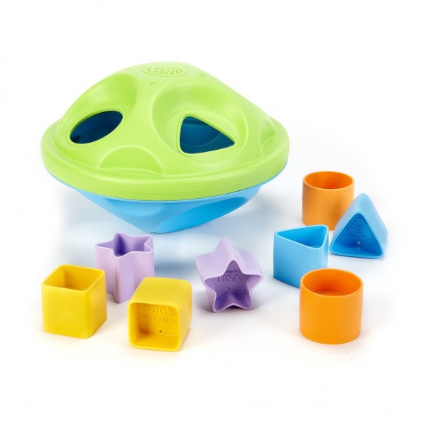 Green Toys Formsortierer 9 Teile