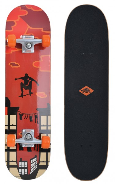Schildkröt Skateboard Kicker 31''