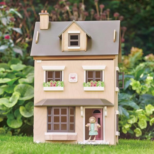 Tender Leaf Holz Puppenhaus Foxtail Villa
