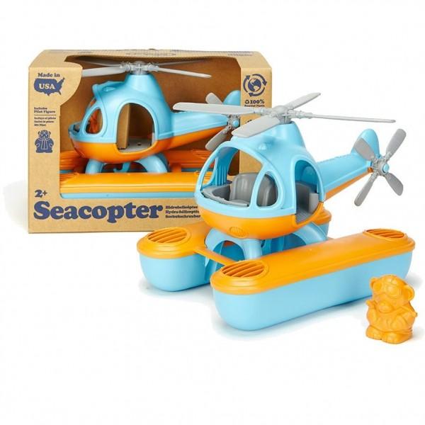 Green Toys Wasser-Hubschrauber blau/orange