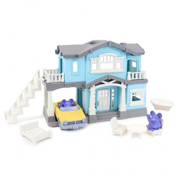 Green Toys Haus Spielset 10 Teile