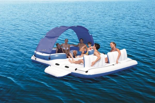 Bestway CoolerZ Badeinsel Tropical Breeze 6 Personen