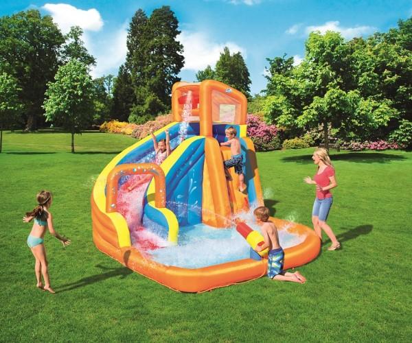 Bestway H2OGO! Wasserpark Turbo Splash mit Dauergebläse