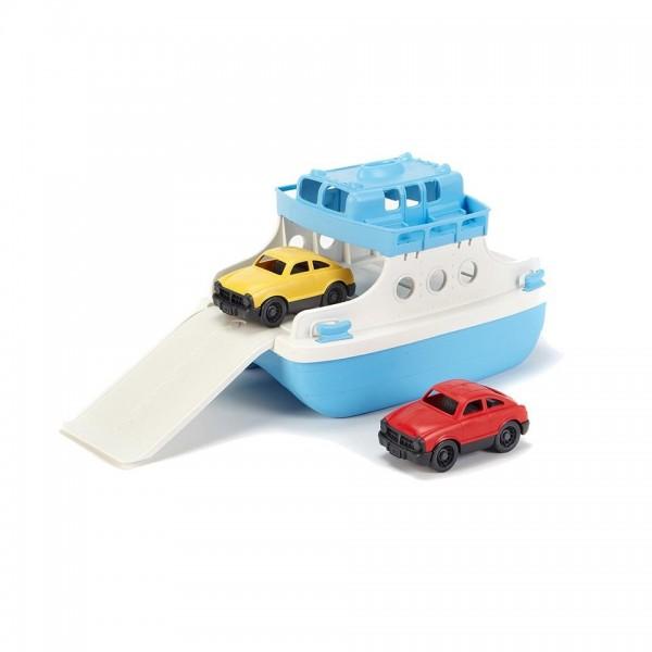 Green Toys Fährschiff mit 2 Mini-Autos