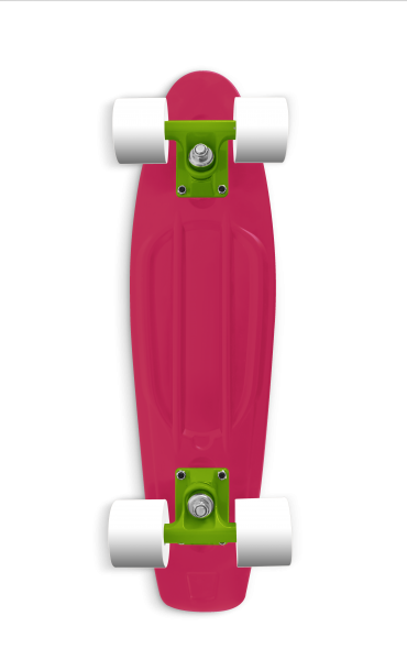 "RAM Mini Cruiser Old School 22"" drachenfruchtpink 12248"