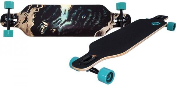 Streetsurfing Longboard Freeride 39 Wolf 500252
