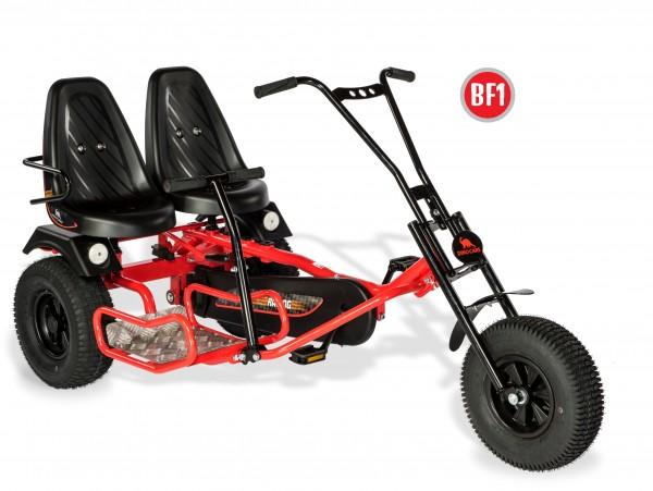 Dino Cars Gokarts 2 Rider BF1 rot/schwarz
