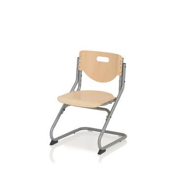 Kettler Schreibtischstuhl Chair Plus 06725-017 silber/Buche