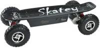 Skatey 800 Elektro-Skateboard Double Black