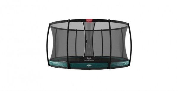 Berg Trampolin Elite InGround + Sicherheitsnetz Deluxe