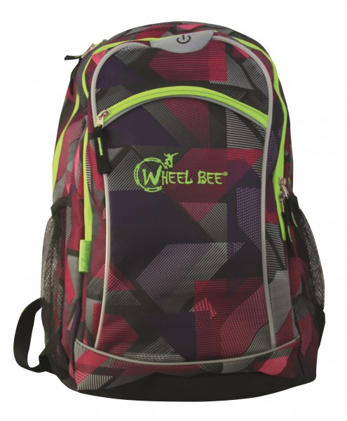 Wheel Bee Rucksack Purple 950004