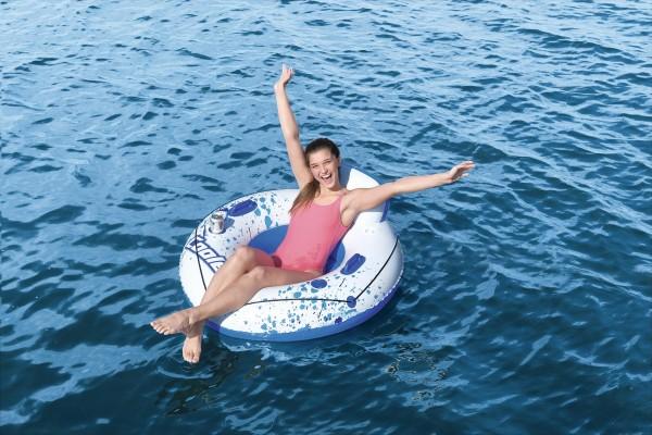 Bestway Hydro-Force Luxus Schwimmreifen mit Rückenlehne